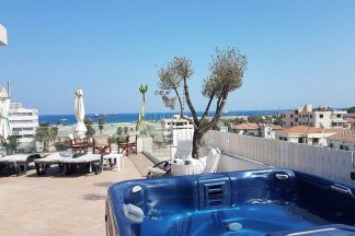 Suites in Larnaca with sea view terrace